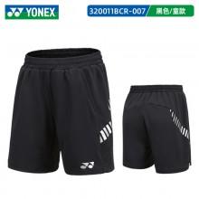 2021新款尤尼克斯 320011BCR童装羽毛球短裤 儿童款青少年款 舒适透气