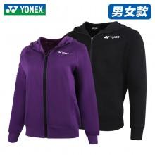 2021新款YONEX尤尼克斯 150141/250141男女款羽毛球服长袖外套连帽开衫