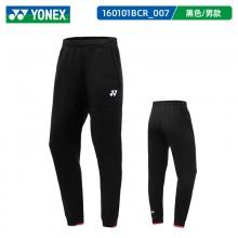 2021新款尤尼克斯YONEX 160101BCR男款运动裤透气休闲裤