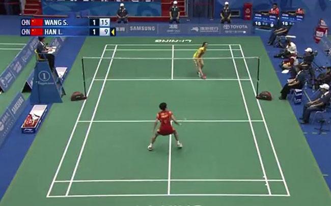 羽毛球比赛视频_2017新加坡羽毛球公开赛视频:女单决赛戴资颖VS马琳_楚天运动频道
