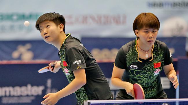 2017奥地利乒乓球公开赛 孙颖莎 陈幸同夺女双冠军