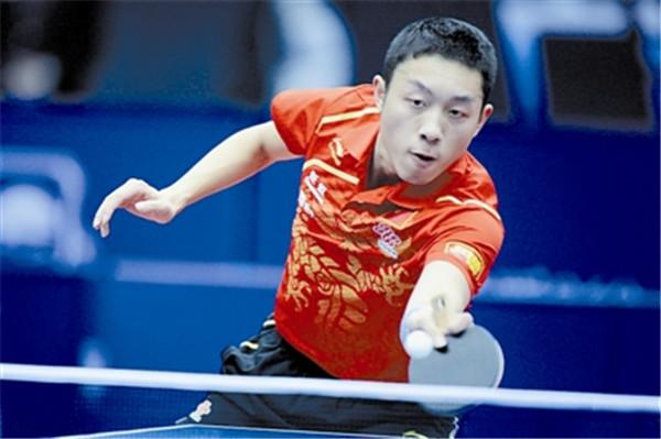 乒乓球技术:乒乓球下旋球怎么拉前冲