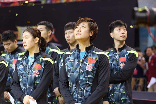 国乒直通赛第二阶段抽签 马龙丁宁血战到底求出线图片