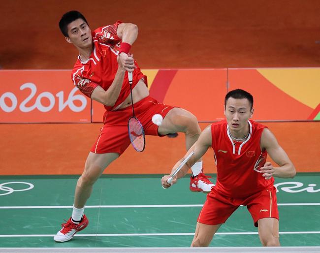 羽毛球比赛视频_2016里约奥运会羽毛球男双半决赛视频:中国vs英国_楚天运动频道
