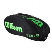 维尔胜 Wilson WRZ842509 双肩网球拍背包 网坛女皇小威同款球包 超大容量 双肩背包