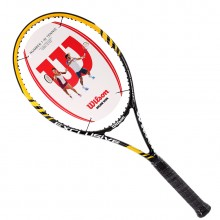 维尔胜 Wilson Exclusive Yellow 网球拍 T5965 玄武岩纤维